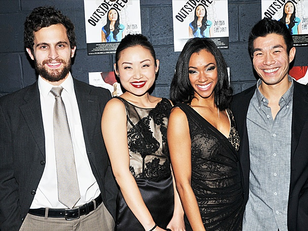 Cross-Cultural Off-Broadway Comedy Outside People Celebrates Opening Night