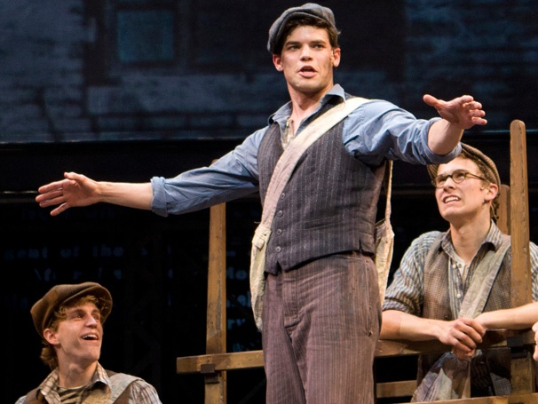 Extra! Extra! Newsies, Starring Jeremy Jordan, Begins Performances at the Nederlander Theatre