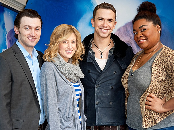 Oh, My Loves! Broadway-Bound Ghost Stars Caissie Levy & Richard Fleeshman Welcome New London Headliners