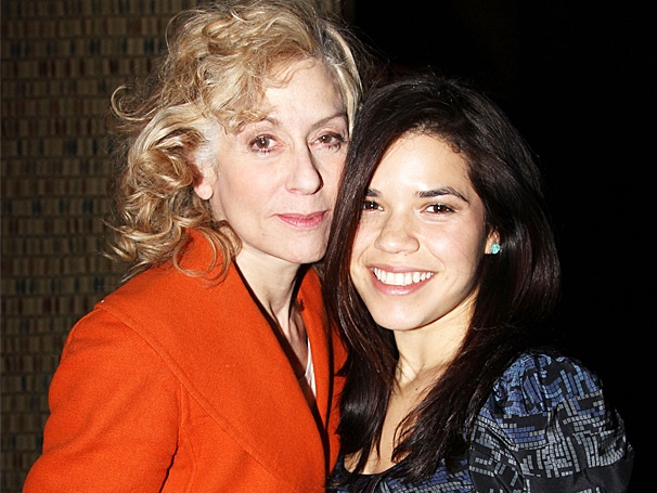 America Ferrera Cheers Ugly Betty Co-Star Judith Light at Other Desert Cities