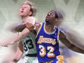 Magic Johnson and Larry Bird Head to The Late Show