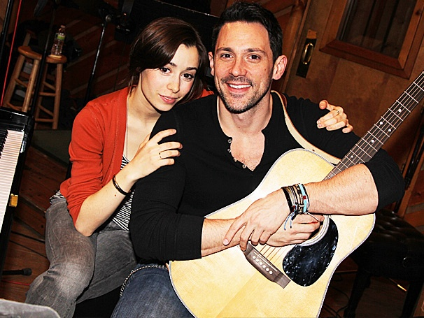 See Steve Kazee, Cristin Milioti & the Actor-Musicians of Once in the Recording Studio