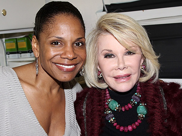 Joan Rivers Trades Fashion for Gershwin at Porgy and Bess