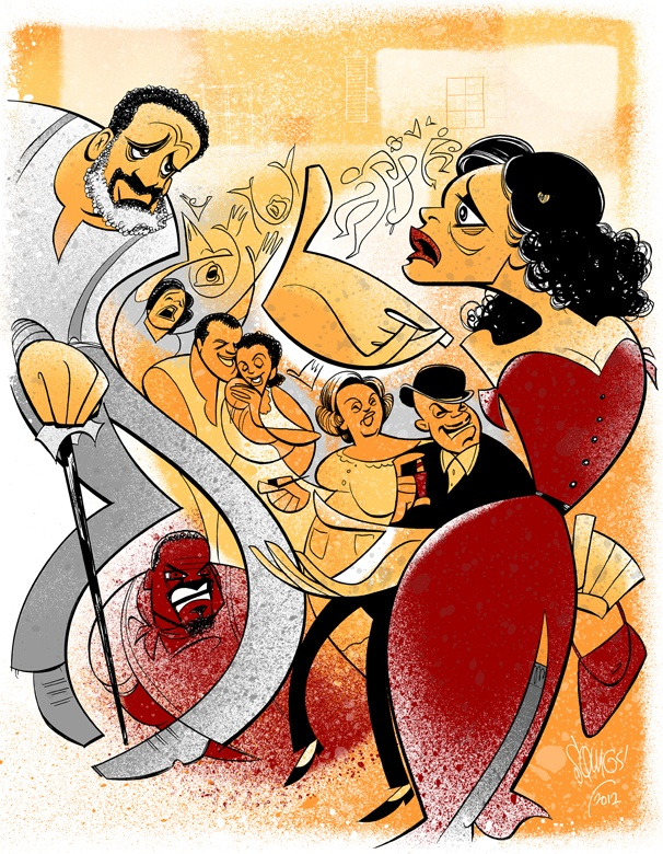 Feel the Passion and Drama in a Squigs Sketch of Porgy and Bess