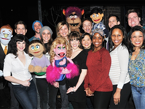 Sara Bareilles and Sugarlands Jennifer Nettles Take a Trip to Avenue Q 