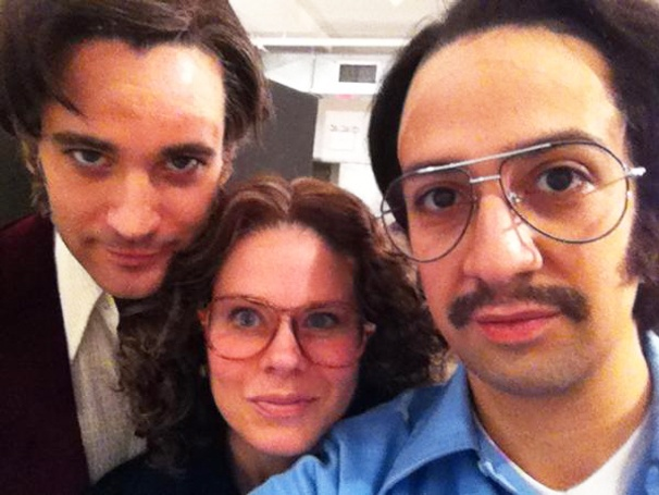 Sneak Peek at Colin Donnell, Celia Keenan-Bolger and Lin-Manuel Miranda in Encores! Merrily We Roll Along
