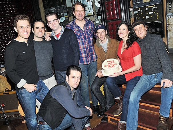Who Do You Love? Million Dollar Quartet Celebrates 200 Performances Off-Broadway!