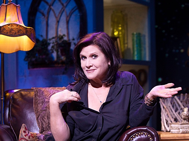Raise a Glass! Carrie Fisher's Wishful Drinking Opens in Houston