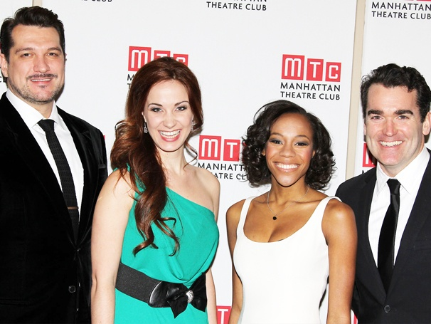 Paulo Szot, Sierra Boggess, Nikki M. James & Brian dArcy James Headline MTC 2012 Winter Gala