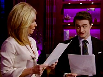 Daniel Radcliffe Talks Nick Jonas, The Bachelor and More as Guest Host on Live! With Kelly
