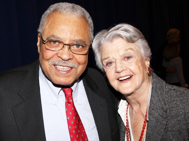Angela Lansbury and James Earl Jones Have a Senior Debate at The Best Man Press Conference