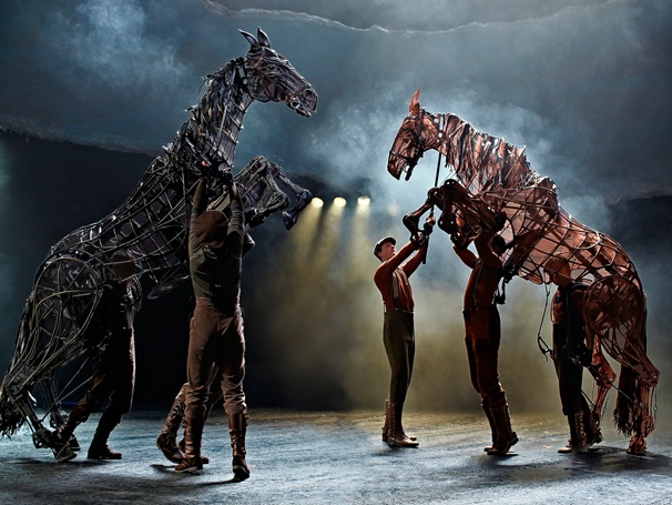 National Tour of War Horse Gallops into Portland