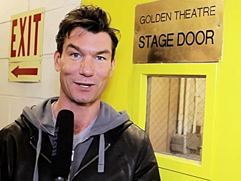 Exclusive! Seminar Star Jerry O'Connell Offers a Peek Backstage