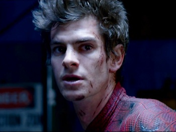 Watch Death of a Salesman's Andrew Garfield in The Amazing Spider-Man
