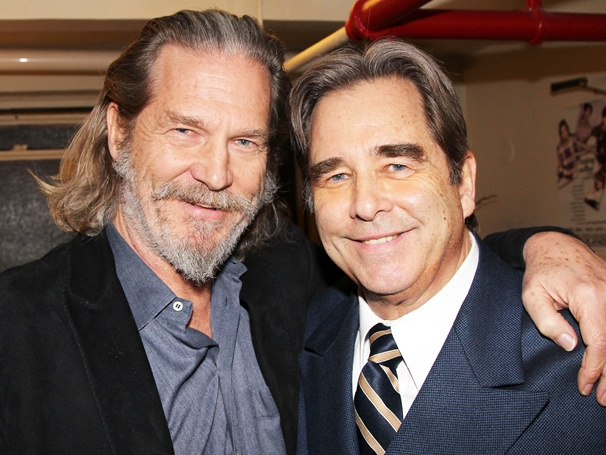 Oscar Winner Jeff Bridges Pays a Visit to Big Brother Beau at How to Succeed