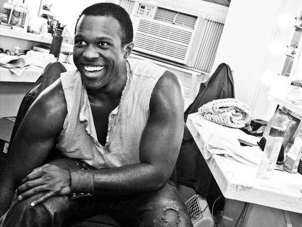 Workouts and Wings: A Day in the Life of Porgy and Bess Star Joshua Henry