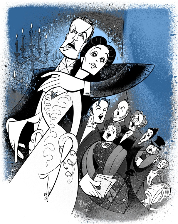 Squigs Salutes The Phantom of the Operas 10,000th Performance on Broadway