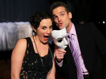 Watch Trista Moldovan & Hugh Panaro Celebrate 10,000 Shows of The Phantom of the Opera