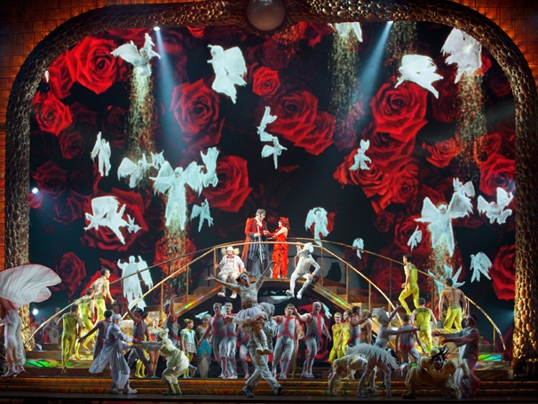 Cirque du Soleil Spectacular Zarkana Begins Performances at Radio City Music Hall