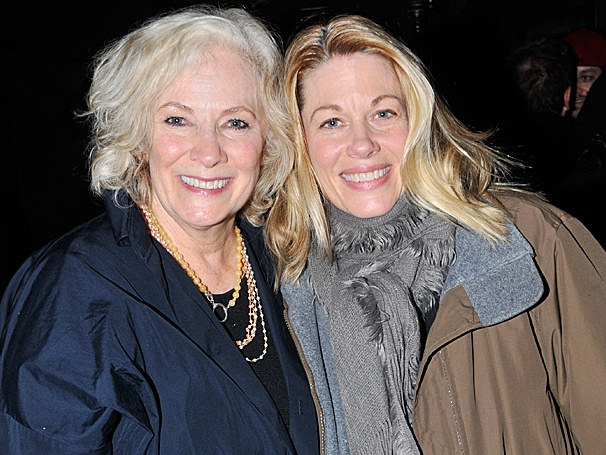 Photo Exclusive! Betty Buckley, Broadway's Margaret White, Visits Off-Broadway's Carrie
