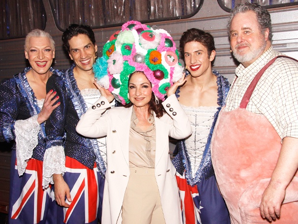 Get On Your Feet! Pop Star Gloria Estefan Visits Priscilla Queen of the Desert