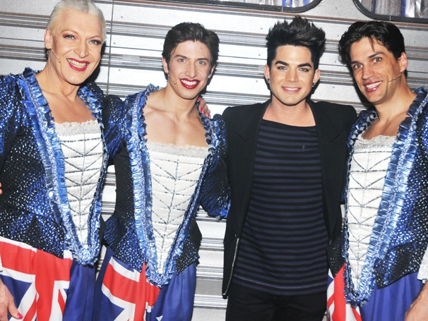Hot Stuff! Adam Lambert Joins the Party at Priscilla Queen of the Desert