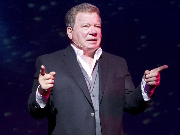 The Trek Begins! Shatner's World: We Just Live In It Opens on Broadway