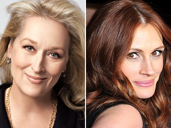 Oscar Winners Meryl Streep & Julia Roberts Confirmed for August: Osage County Film