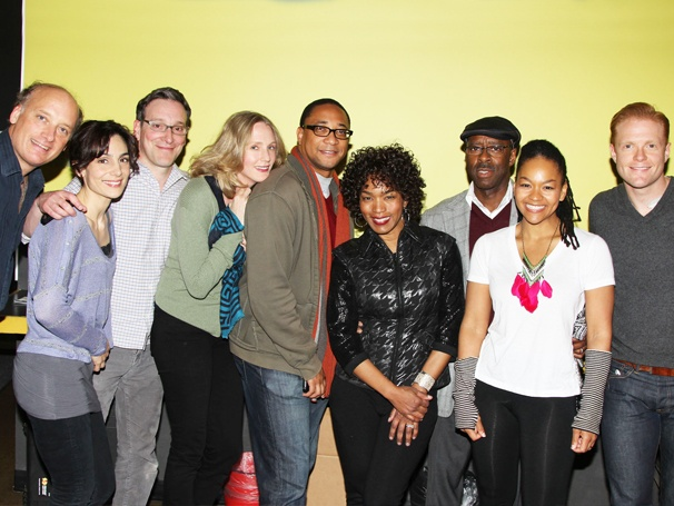 Angela Bassett Visits Broadway-Bound Clybourne Park