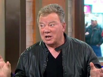 William Shatner Discusses His Love of His Fans and Fear of Critics on Good Morning America