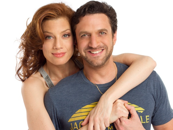Take a Sexy First Look at Jessica Phillips in the Arms of Her Leap of Faith Co-Star Raúl Esparza