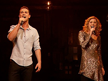  Caissie Levy & Richard Fleeshman Bring the Magic of Ghost to Late Night 