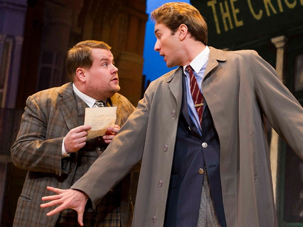 British Hit One Man, Two Guvnors, Starring James Corden, Starts Broadway Previews