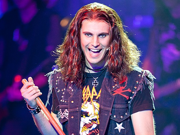 Rock of Ages Lead Rocker Dominique Scott Dares Audiences to a Nightly Screaming Match