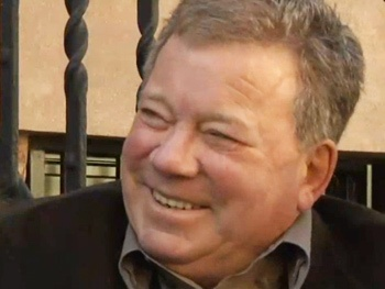 Shatner's World Star William Shatner is Hungry, Thirsty & Cold on Talk Stoop