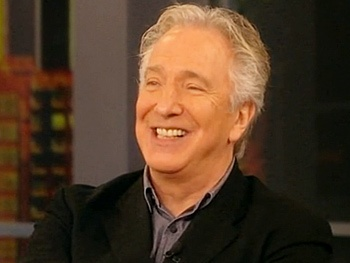 Seminar Star Alan Rickman Dishes About the Tony Race on The View