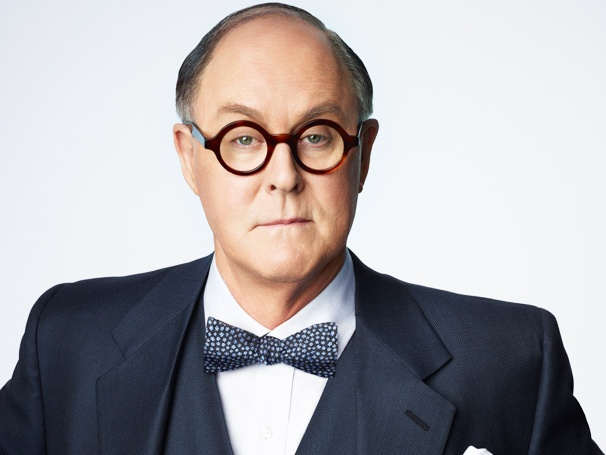 The Eyes Have It! First Look at John Lithgow in Costume for The Columnist