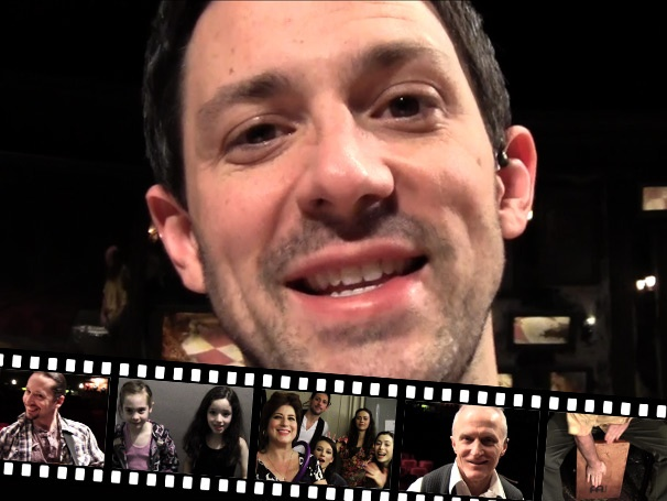 Guitar Hero: Backstage at Once with Steve Kazee Episode 1: Cajóns, Knobblies & Cast Introductions