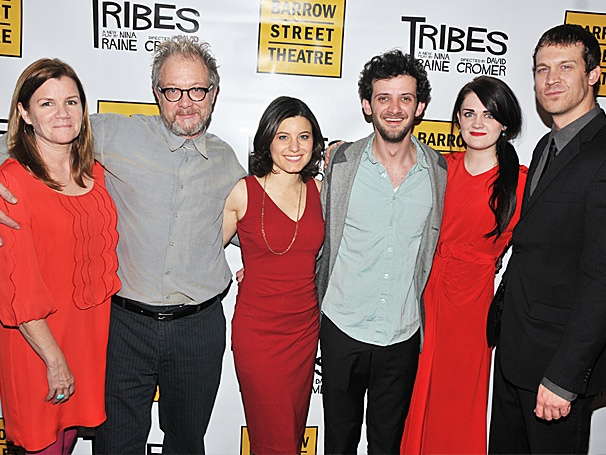 Experience the Family Drama on Opening Night of Off-Broadway's Tribes