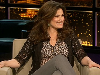 Idina Menzel Dishes on Getting Naked, Gay Cruises and Gorgeous Husbands on Chelsea Lately