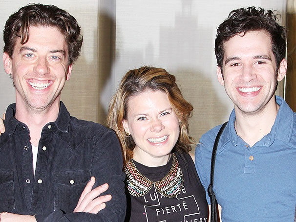 Peter and the Starcatcher's Christian Borle, Celia Keenan-Bolger, Adam Chanler-Berat and More Meet the Press
