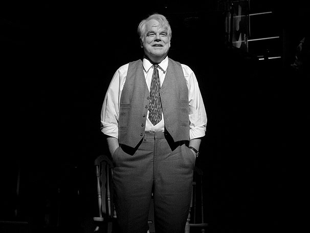Death of a Salesman, Starring Philip Seymour Hoffman and Andrew Garfield, Opens on Broadway
