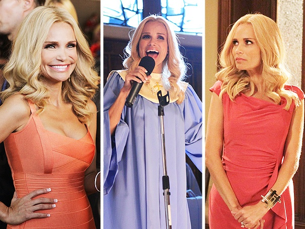 Good Cheno-Bits: Kristin Chenoweth Gets Boobylicious on Episode 2 of GCB