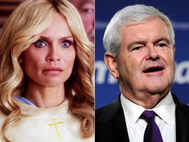Kristin Chenoweth Defends GCB from Newt Gingrich Attacks: 'Don't Talk About My Show!'