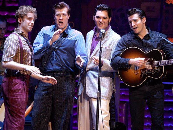 Great Balls of Fire! Million Dollar Quartet Tour Snaps New Cast Photos