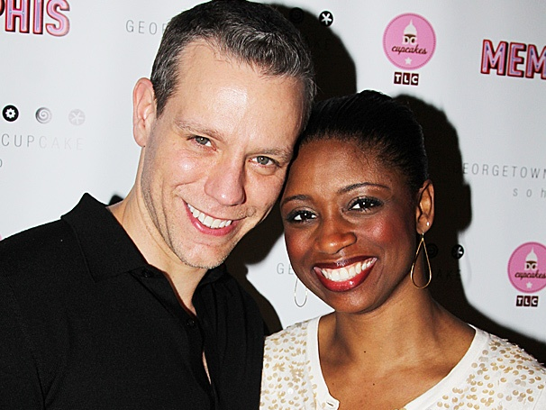 Hockadoo! Adam Pascal, Montego Glover & the Cast of Memphis Celebrate 1,000 Performances on Broadway