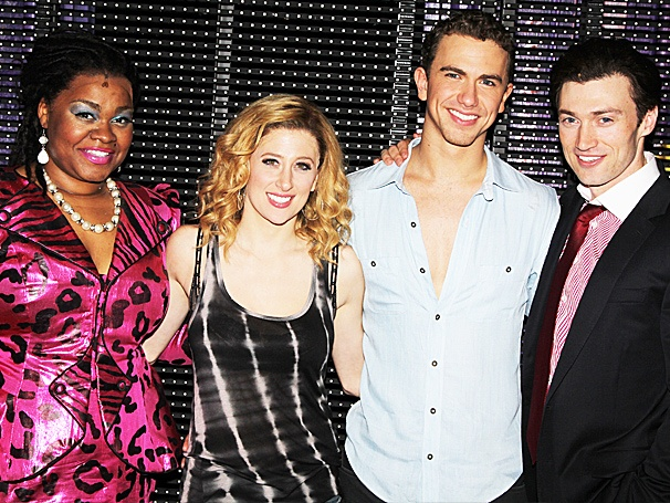 Ghost Stars Caissie Levy, Richard Fleeshman & More Celebrate Their First Broadway Preview