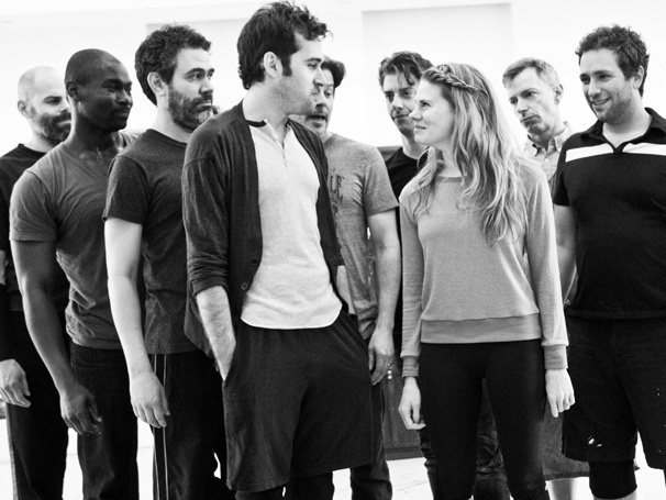 Photo Exclusive! Fly Away with Adam Chanler-Berat, Christian Borle & Co. in Rehearsal for Peter and the Starcatcher
