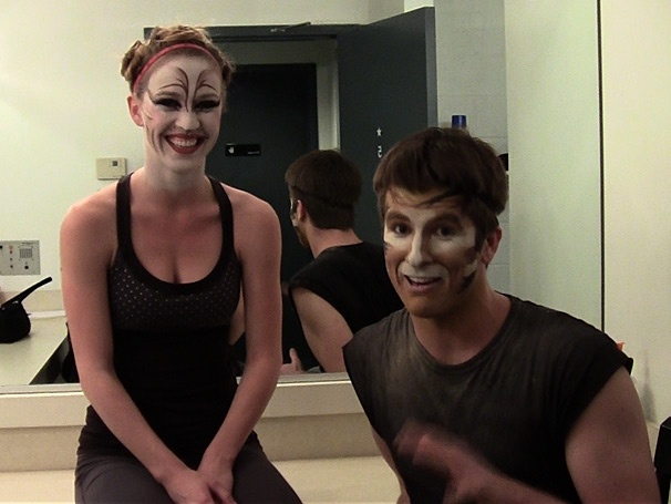 Backstage at Cats with Chris Stevens Episode 2: Chatting with the Kitties of Cats