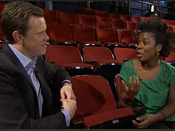 Godspell's Uzo Aduba Shows How to 'Tweet the Gospel' on Rock Center